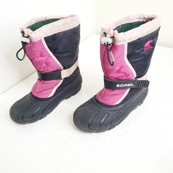 Sorel Pink Winter Boots